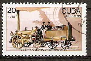 Cuba 3221 o Dampflokomotive von 1837 (2015833)