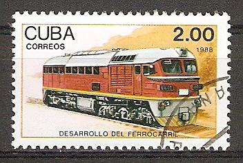 "Cuba 3225 o Diesellokomotive ""TEM 4K"" (2015836)"