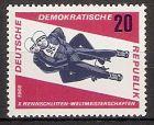 DDR 1157 ** Rennrodel WM 1966 / Herren-Doppel (2018149)