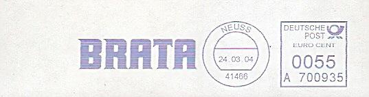 Freistempel A700935 Neuss - BRATA (#25)