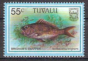 Tuvalu 762 ** Hawaiischer Ruby-Snapper (2017659)