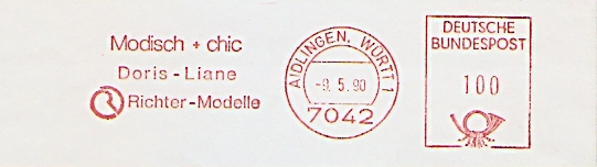Freistempel Aidlingen - Richter Modelle (#238)