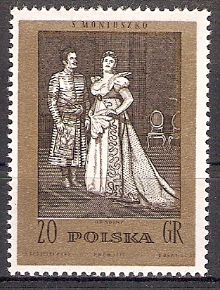 Polen 2175 ** Die Gräfin, Oper (2017385)