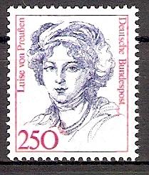 BRD 1428 ** 2,50 DM Frauen - Königin Luise von Preußen (2015198)