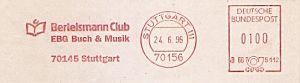 Freistempel B66 5112 Stuttgart - Bertelsmann Club (#396)