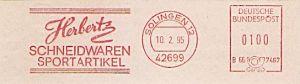 Freistempel B66 7467 Solingen - Herbertz Schneidwaren (#334)