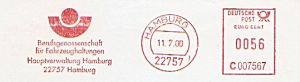 Freistempel C007567 Hamburg - BG Fahrzeughaltungen (#322)