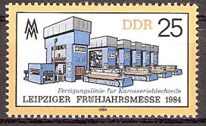 DDR 2863 ** Leipziger Frühjahrsmesse 1984 (2018290)