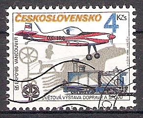 Tschechoslowakei 2849 o Sportflugzeug Zlin Z-50 LS (2018207)