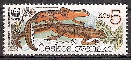 Tschechoslowakei 3010 ** Karpatenmolch (2015515)