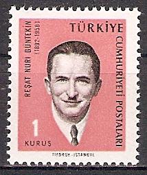 Türkei 1981 ** Resat Nuri Güntekin (2017671)