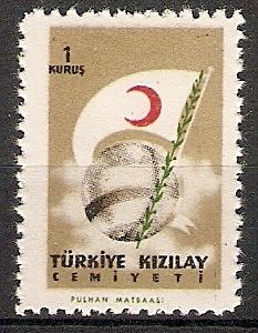 Türkei ZZM. C223 ** Roter Halbmond 1957 (2015340)