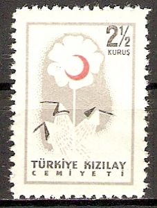 Türkei ZZM. C224 ** Roter Halbmond 1957 (2015607)