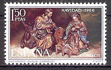 Spanien 1659 ** Weihnachten 1966 (2017468)