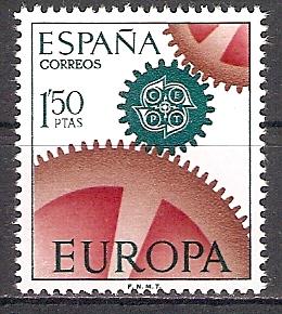 Spanien 1682 ** Europa CEPT 1967 (2017469)