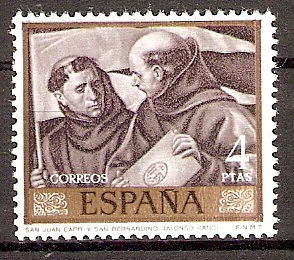 Spanien 1804 ** Hl. Johannes Capistran / Hl. Bernard (20173)