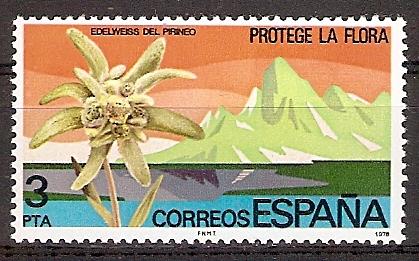 Spanien 2361 ** Edelweiß in den Pyrenäen (2017126)