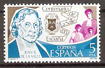 Spanien 2403 ** Hl. Jean Baptiste de La Salle (20171)