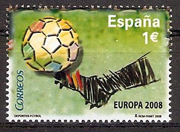 Spanien 4342 ** Gewinn der Fußball-EM 2008 (2017123)
