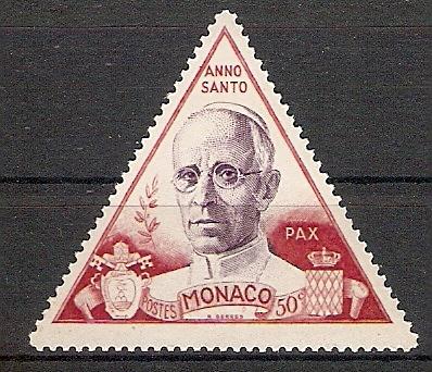 Monaco 430 ** Papst Pius XII. (2018169)