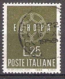 Italien 1055 o Europa CEPT 1959 (2018230)