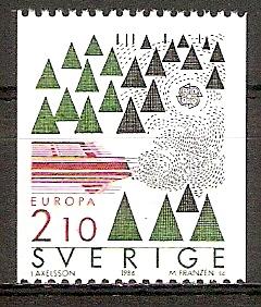 Schweden 1397 C ** Europa CEPT 1986 (20151003)