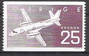 Schweden 1427 ** Verkehrsflugzeug Saab SF 340 (2017292)