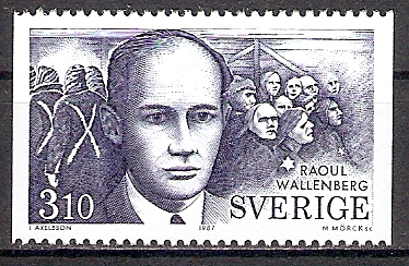 Schweden 1443 ** Raoul Wallenberg / Diplomat (201766)