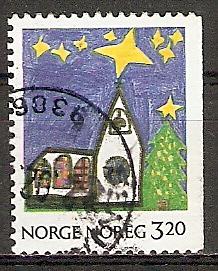 Norwegen 1058 o Weihnachten 1990 (20151011)