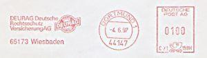 Freistempel C71 159H Dortmund - DEURAG Versicherung (#131)
