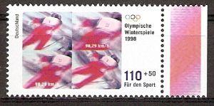 BRD 1969 ** Olympiade 1998 Skispringen (2015700)