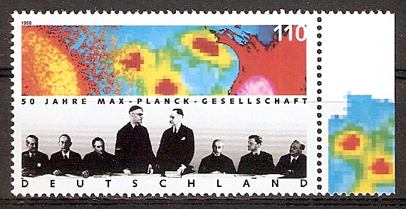 BRD 1973 ** Max-Planck-Gesellschaft (2015697)