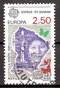 Frankreich 2834 o Europa CEPT 1991 (2015136)