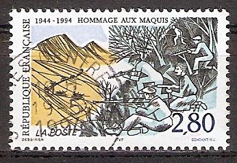 Frankreich 3019 o Widerstandsgruppen des Maquis (2017226)