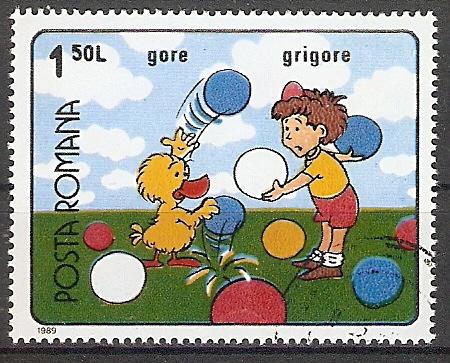 Rumänien 4561 o Rumänische Zeichentrickfilme (201713)