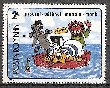 Rumänien 4562 o Rumänische Zeichentrickfilme (201712)