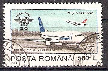 Rumänien 5015 o Boeing 737 (201775)