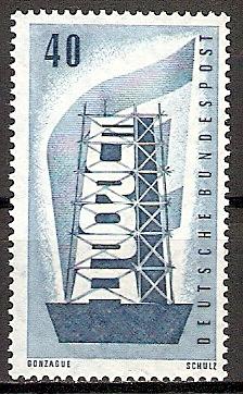BRD 242 ** Europa CEPT 1956 (2015569)