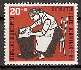 BRD 245 ** Wohlfahrt 1956 Kinderpflege (2015566)
