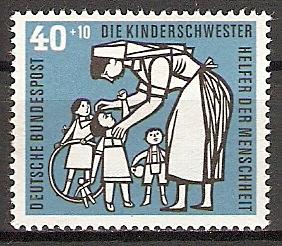 BRD 246 ** Wohlfahrt 1956 Kinderpflege (2015567)