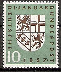 BRD 249 ** Eingliederung des Saarlandes 1957 (2015560)