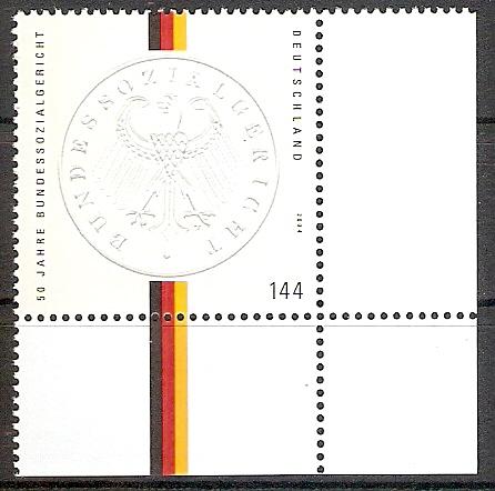 BRD 2422 ** Bundessozialgericht Bogenecke u.r. (2017525)