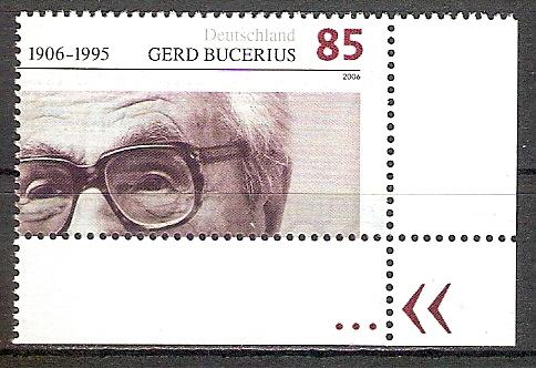 BRD 2538 ** Gerd Bucerius Bogenecke u.r. (2017527)