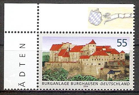 BRD 2548 ** Burganlage Burghausen - Bogenecke o.l. (2017529)