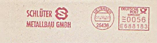 Freistempel E688183 Uetersen - Schlüter Metallbau (#221)