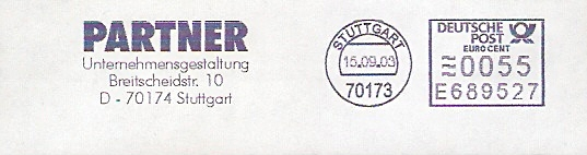 Freistempel E689527 Stuttgart - PARTNER Unternehmensgestaltung (#51)