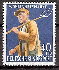 BRD 300 ** Wohlfahrt 1958 Bauer (2015549)