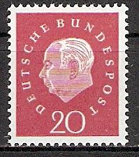 BRD 304 ** Bundespräsident Heuss (2015393)