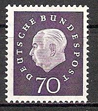 BRD 306 ** Bundespräsident Heuss (2015395)