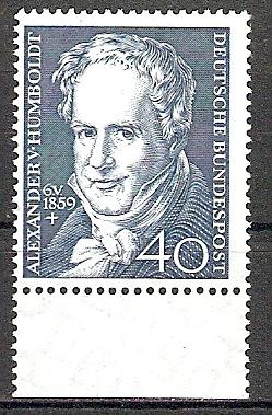 BRD 309 ** Alexander Freiherr von Humboldt 1959 (2015391)